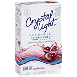 Crystal Light , Antioxidant, Natural Pomegranate Cherry, 10-Count Boxes (Pack of 6) ~ Crystal Light