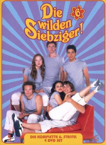 Die wilden Siebziger! - Die komplette 6. Staffel (4 DVDs - Amaray)