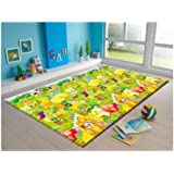 MyLine Baby PlayMat_Fruit Garden/Train ABC-Extra Thick