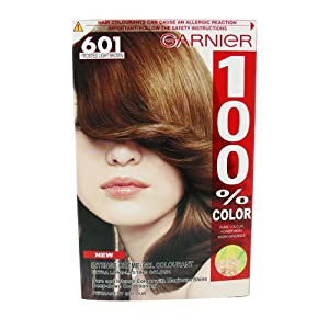 Garnier 100 Color 601 Light Frosted Brown Amazoncouk Health Amp Person