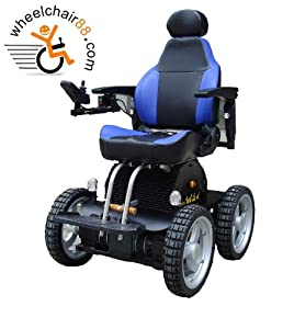 Stair Climbing 4 Wheel Drive 4X4 Wheelchair by Wheelchair88, for the rugged adventurer