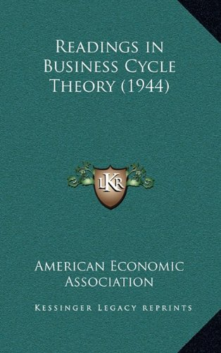Readings in Business Cycle Theory (1944)