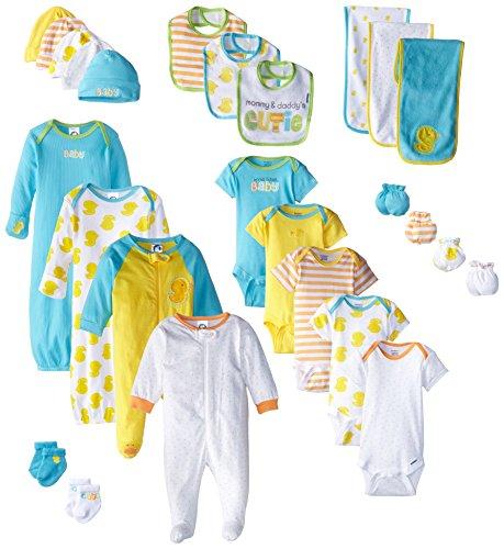 Gerber Unisex-Baby Newborn World's Cutest Baby Gift Set, 26 Piece