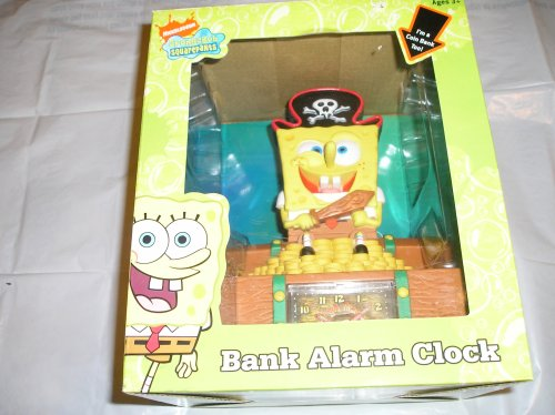 Buy Spongebob Squarepants Bank Alarm Clock