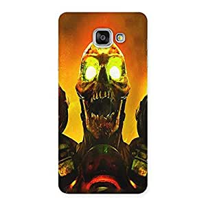 Ajay Enterprises Warrior Enemy Back Case Cover for Galaxy A7 2016