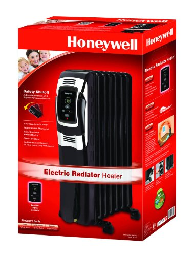B00ERQ7DX0 Honeywell Digital Oil Filled Radiator Whole Room Heater