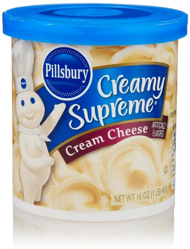 Pillsbury Creamy Supreme Frosting, Cream Cheese Flavor, 16 Oz