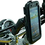 Extended Tough Case M8 Motorcycle Mount for Samsung Galaxy S3 SIII GT-i9300