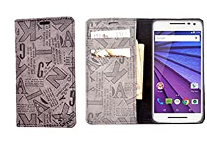 R&A Pu Leather Wallet Case Cover For Huawei Honor 5X