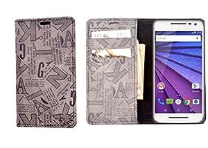 R&A Flip Cover Designed For HTC Desire V