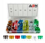 ABN 120 Piece Car Truck Fuse Assortment 5,7.5,10,15,20,25,30 AMP