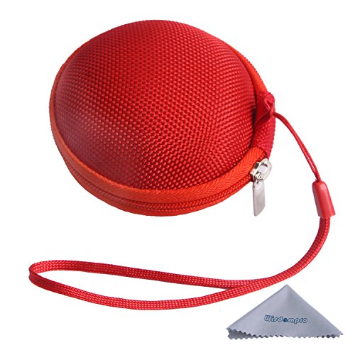 Dedeciated Colorful Replacement Protective Carrying Case/Bag/Pocket Save/Holder For Bose Ie2 Mie2 Mie2I Sie2 Sie2I Ie1 Mie1 In-Ear Fit Headphones Mobile Sport Headset (Red)