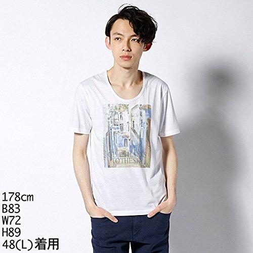 MKオム(MK homme) Tシャツ(プリント半袖T)【ホワイト×カラー/51(A体L)】