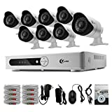 XVIM 8CH 720P HD Security System QR