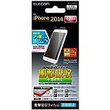 ELECOM iPhone6 フィルム 衝撃吸収・指紋防止・反射防止 PM-A14FLFPAN