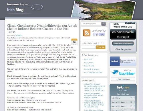 Irish Blog