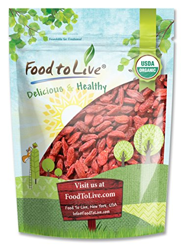 Food To Live Organic Goji Berries (3 Pounds) (Himalayan Yogurt Goji Berries compare prices)