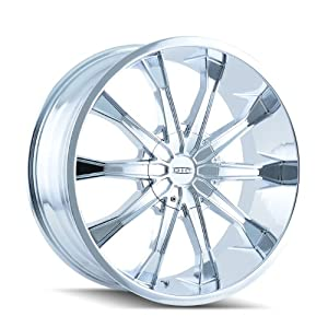 DIP Mortar D99 Wheel with Chrome Finish (20×8.5″/11×139.7mm)