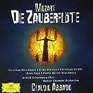 Mozart - Die Zauberfl�te (La fl�te enchant�e) / R�schmann � Mikl�sa � Strehl � Pape � M�ller-Brachmann � MCO � Abbado