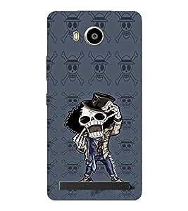 EPICCASE Freeky Skeleton Mobile Back Case Cover For LENOVO A7700 (Designer Case)
