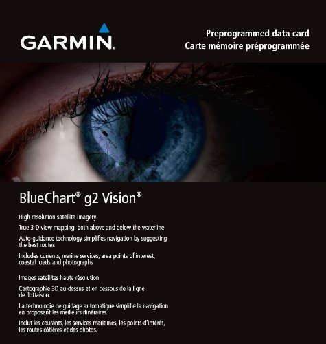 Garmin BlueChart g2 Vision Retail Map Update, 010-11840-01 (Retail Map Update)