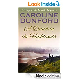 A Death in the Highlands - A Euphemia Martins Murder Mystery (A Euphemia Martins Mystery Book 2)