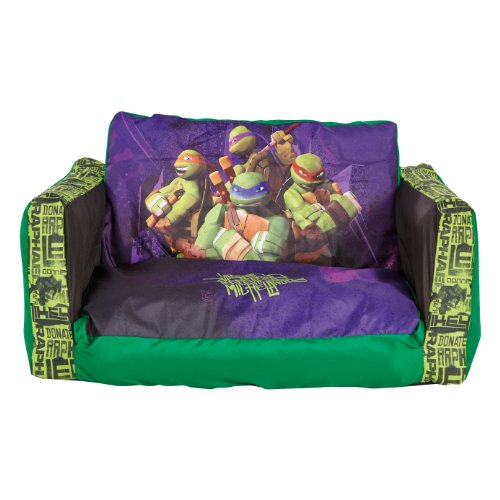Turtles Junior Flip Out Sofa front-981576