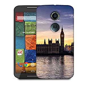 Snoogg Wall Clock Designer Protective Phone Back Case Cover For Moto X 2nd Generation