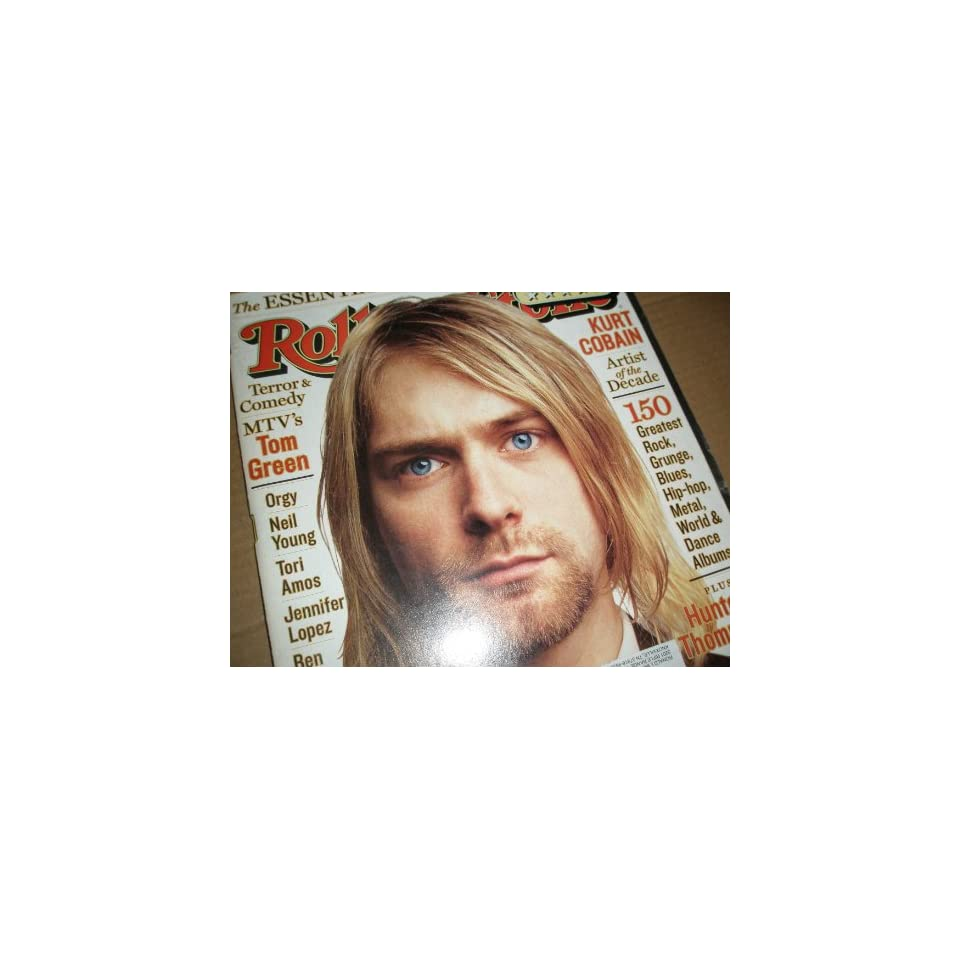 Rolling Stone Magazine May 13,1999 Issue 812 Kurt Cobain Cover
