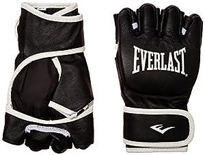 Everlast Grappling 7760 Gants en cuir Noir sm
