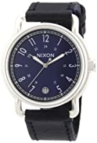 Nixon The Axe Blue Sunray Dial Stainless Steel Mens Watch A3221258