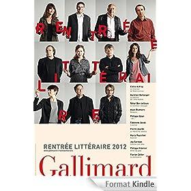 Rentr�e litt�raire Gallimard 2012 - Extraits gratuits