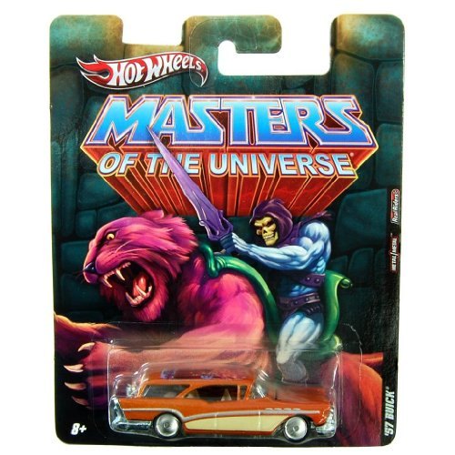 Hot Wheels 57 Buick * Skeletor * Masters Of The Universe 2011 Nostalgia Series 1:64 Scale Die-Cast Vehicle