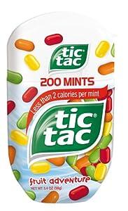 tic tac Fruit Adventure Bottle Pack, 3.4 Ounce