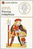 img - for Poesias completas, Garcilaso (Castalia Didactica) (Castalia didactica) (Spanish Edition) book / textbook / text book