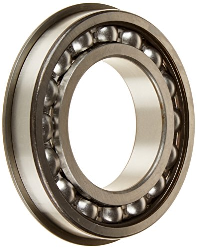 SKF 215 NR Radial Bearing, Single Row, Deep Groove Design, Filling Notch, Maximum Capacity, ABEC 1 Precision, Open, Snap Ring, Normal Clearance, Standard Cage, 75mm Bore, 130mm OD, 25mm Width