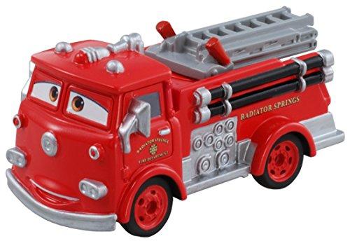Tomica Disney Pixar Cars Red Fire Engine C-07 (Japan) - 1
