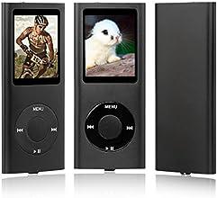 """NEUE 16GB 4. GENERATION MP3 MUSIC MEDIA PLAYER RADIO VIDEO FM 1.8 """"LCD-Bildschirm (nicht IPOD,nicht itunes unterstützen) (schwarz)"""