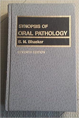 Synopsis of Oral Pathology