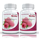 Raspberry Ketone Burn (2 Bottles) - Highly Concentrated Raspberry Ketones Fat Burning Supplement. The Top Rated New All Natural Weight Loss Diet Formula. 500mg ~ Raspberry Ketone Burn