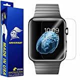 ArmorSuit MilitaryShield For Apple Watch 42mm Screen Protector [Full Coverage] [2 Pack] Anti-Bubble Ultra HD Shield w/ Lifetime Replacements
