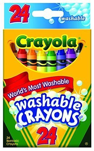 Crayola Ultra Clean Washable Crayons box of 24 supply:home-garden-and-beyond1