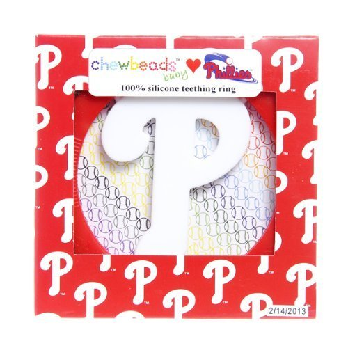 Chewbeads MLB Gameday Teether - Philadelphia Phillies