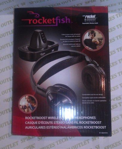 Rocketfish Rf-Rbwhp01 Rocketboost Wireless Stereo Headphones