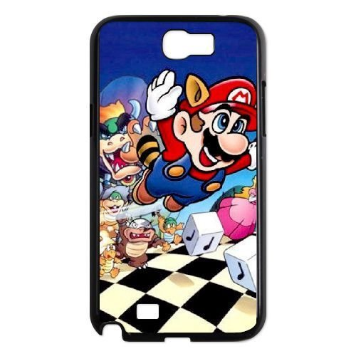Samsung Galaxy Note 2 N7100 Cases Cell phone Case Super Mario Bros Llzmo Plastic Durable Cover