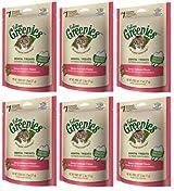 FELINE GREENIES Cat Dental Treat Reduce Tartar & Bad Breath 5.5 oz SALMON