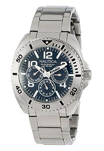 Nautica Men's N11605G Classic Bracelet Classic Analog Multi-Function Watch