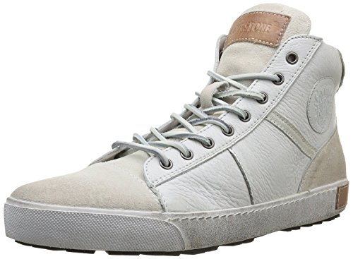 Blackstone FM01 Men's High Top Sneakers, Ember, 46 M EU / 12 M US