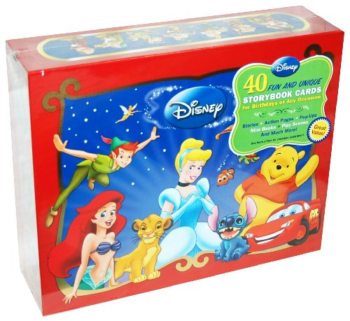 Disney 40 Fun and Unique Storybook Cards for