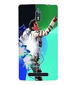 Fuson 3D Printed Michael Jackson Wallpaper Designer Back Case Cover for Oppo Find 7 - D691